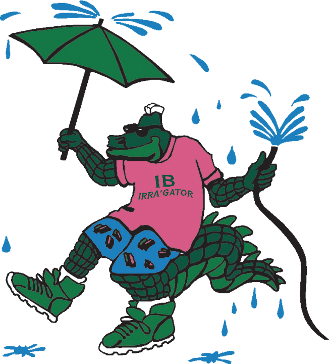 Ibey irragator with umbrella